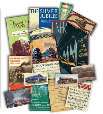 Steam Trains Memorabilia Gift Pack